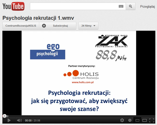 HOLIS Psychological Development Centre on  You Tube